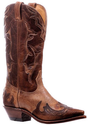 Ladies Boulet Snip Toe Cowgirl Boot 6610
