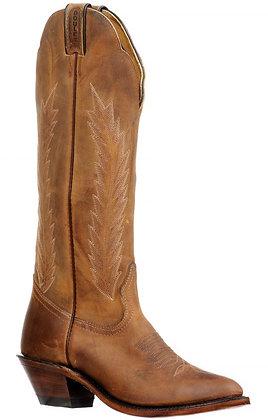 Ladies Boulet Medium Square Toe Cowgirl Boot 8242
