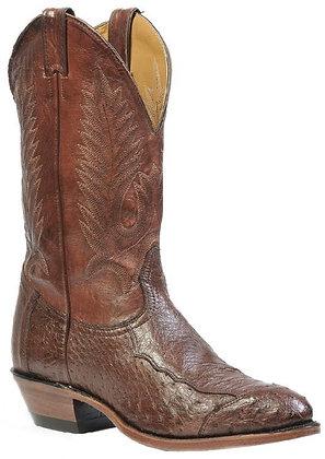 Men's Boulet Smooth Ostrich Medium Cowboy Toe Boot 1505