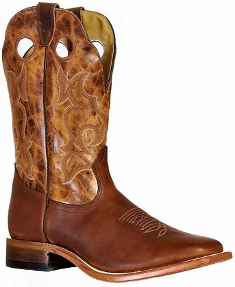 Men's Boulet Wide Square Toe Cowboy Boot 9358