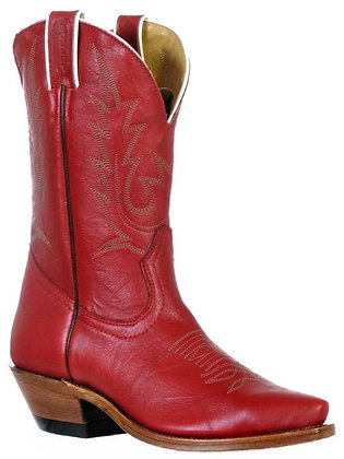 Ladies Boulet Snip Toe Cowboy Boot 9604
