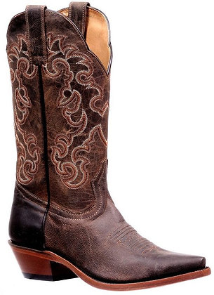 Ladies Boulet Snip Toe Rugged Country Boot 6804