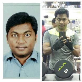Ritesh Shinde - Chef lost 12kg