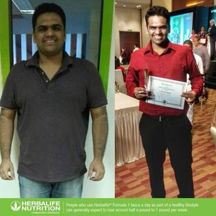 Kunal Gupta - 30kg Transformation