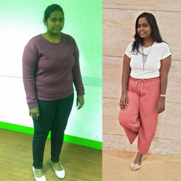 Komal Tenkal - 20kg weight loss