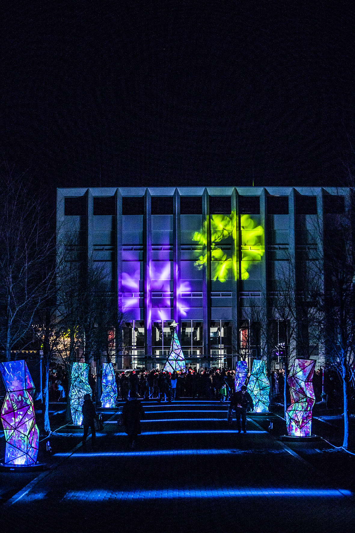 北海道科学大学キャンパスイルミネーション2017