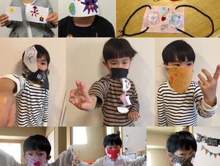 コロナに負けないマスク!!