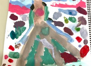 オンラインアート教室盛り上がっています!!