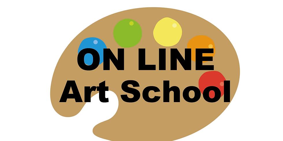 オンラインアート教室 体験チケット