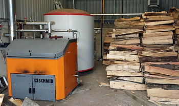Schmid Log Burner Wood Biomass Boiler