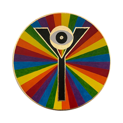 Logo Rainbow - Yassica Art & Healing by