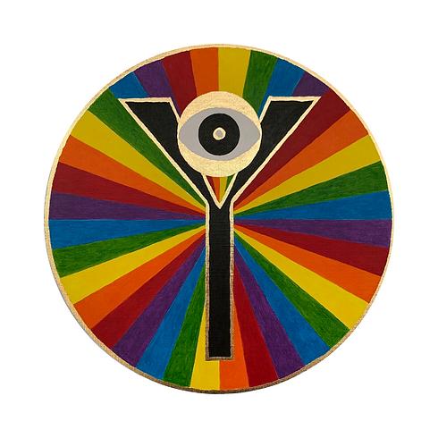 Logo Rainbow - Yassica Art & Healing by