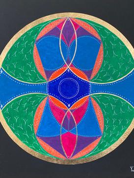 Ancient Earth Healing Mandala