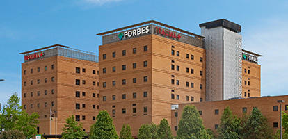 Forbes Regional Hospital various Projects