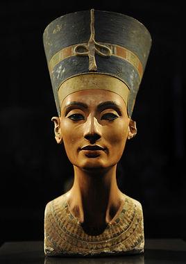Nefertiti limestone bust