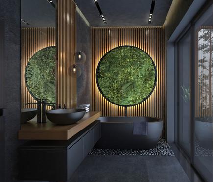 Хозяйская ванная 2эт