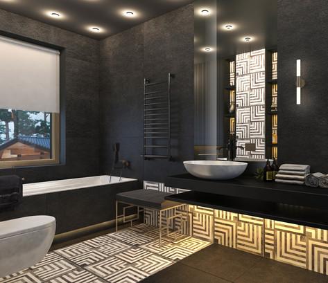 Гостевая ванная 2эт