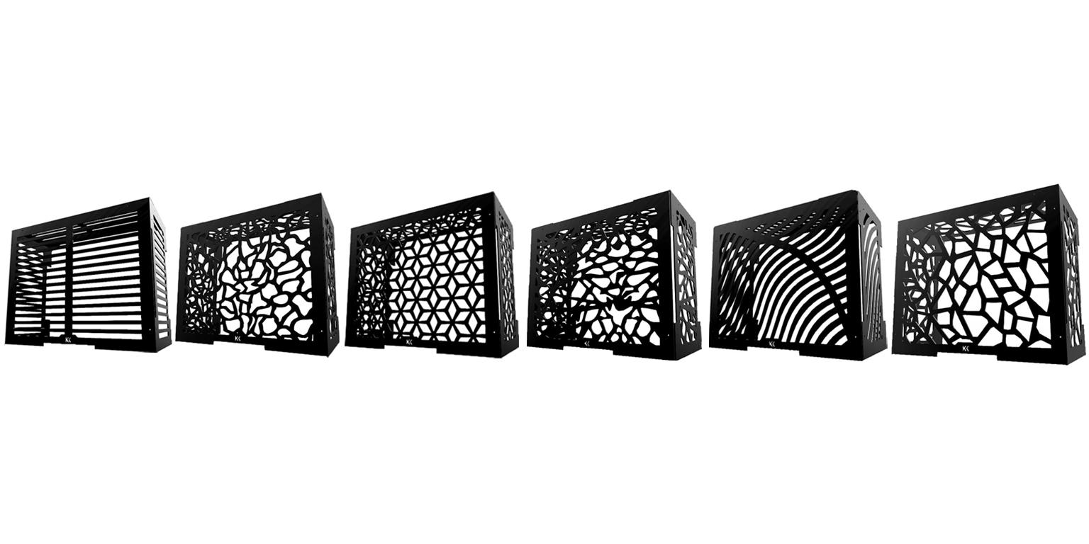 cache climatisation cache climatiseur avantages kachklim. Black Bedroom Furniture Sets. Home Design Ideas