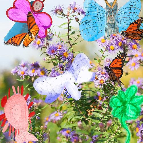 EPI Collab: Butterfly Garden Print