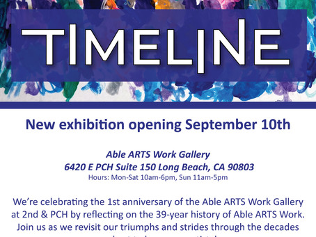 New Exhibition Timeline Now Open! Come participate in our Scavenger Hunt!