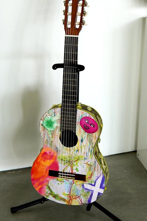Turtle Spirit Guitar an EPI Collaboration