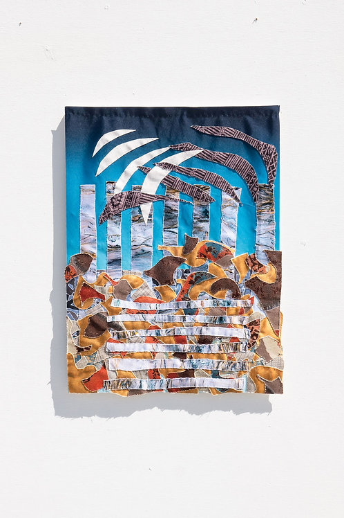 Aneesa Shami: Baba's Goldmine Print