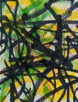 Fernandez Anita_Untitled (Green Black Ye
