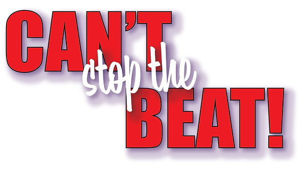 Cant Stop the Beat logo red.png