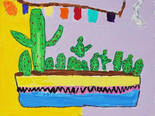Cactus Family by Julianna Gallardo