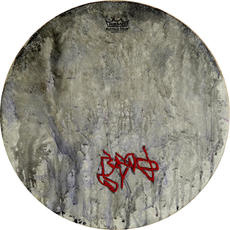 Untitled Buffalo Drum. Lorenia Varela.JP