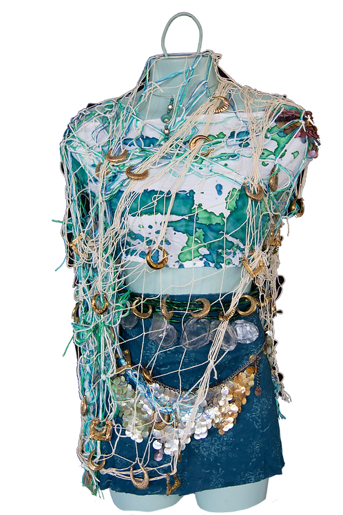 A Recycled Treasure Installation by CECA Resident Artists & Aneesa Shami