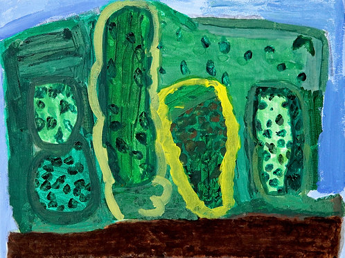A Family of Cactus by Julianna Gallardo
