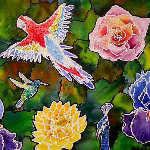 The Flowers and The Birds by Tran Nguyen, Julianna Gallardo & Lawrence Yun