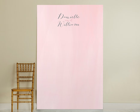 Pink Water Color Backdrop
