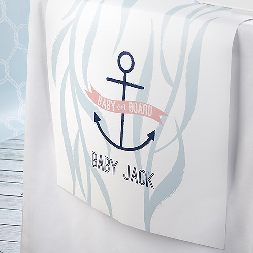 Nautical Baby Shower Runner