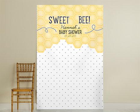 Bee Pin Dot Backdrop