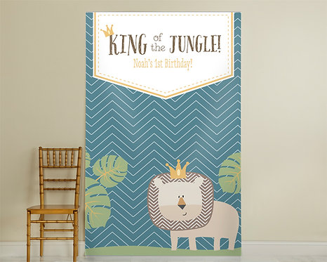 King of the Jungle Backdrop