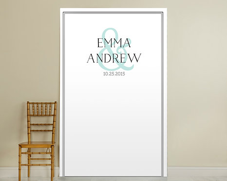 Simply Elegant Photo Backdrop