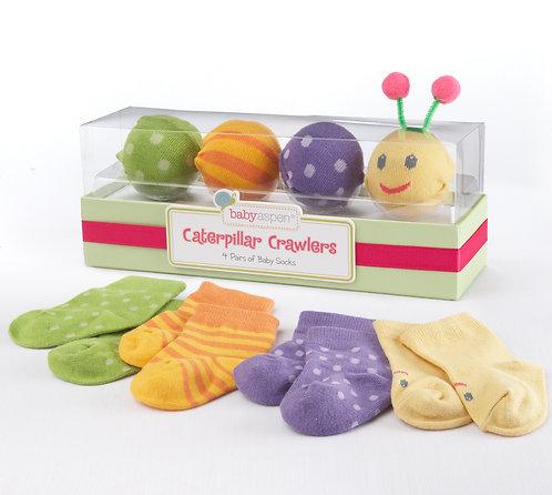 """""""Caterpillar Crowlers"""" Çorap Seti"""