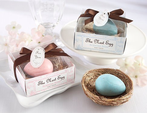 """""""The Nest Egg"""" Kokulu Sabun Şeklinde Hediyelik Bebek Şekeri"""