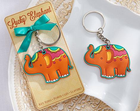"""""""LUCKY ELEPHANT"""" Fil Anahtarlık Şeklinde Hediyelik Nikah Şekeri"""
