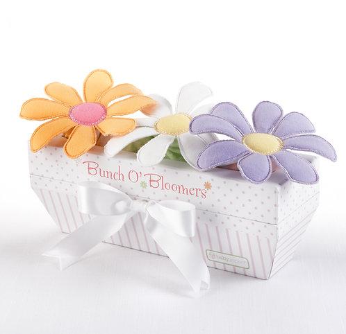 """""""Bunch O'Bloomers"""" 3'lü Çiçekli Şort Hediye Seti (6-12 ay)"""