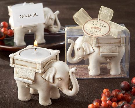 """""""Lucky Elephant"""" Mumluk Şeklinde Hediyelik Nikah Şekeri"""