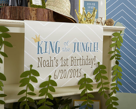 King of Jungle Table Runner