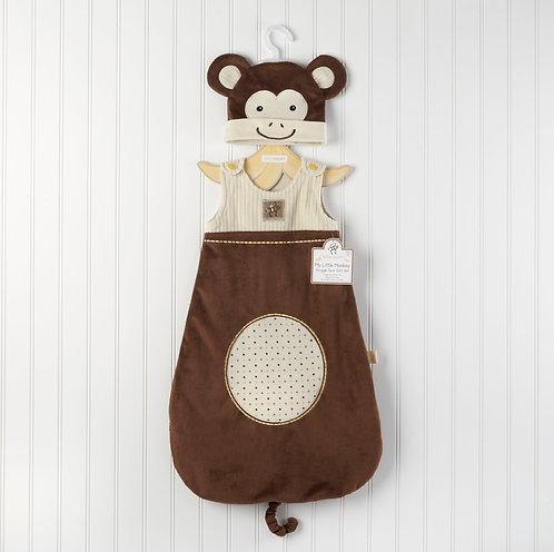 """""""My Little Monkey"""" Maymun Uyku Tulumu ve Şapkası"""