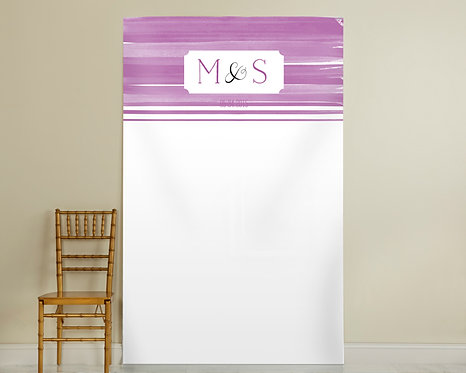 Orchid Ombre Backdrop