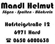 Mandl Helmut - Sägen - Spalten - Häckseln