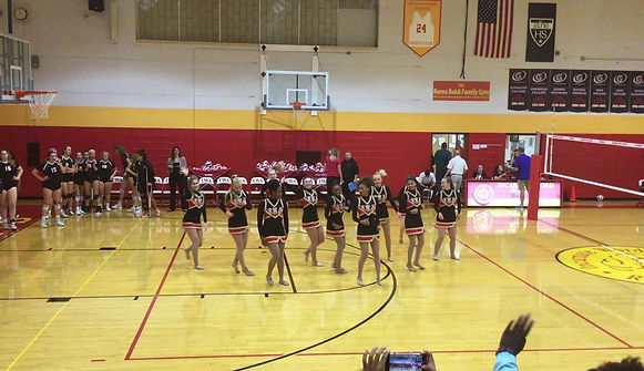 NDA Team Routine performed 9/5