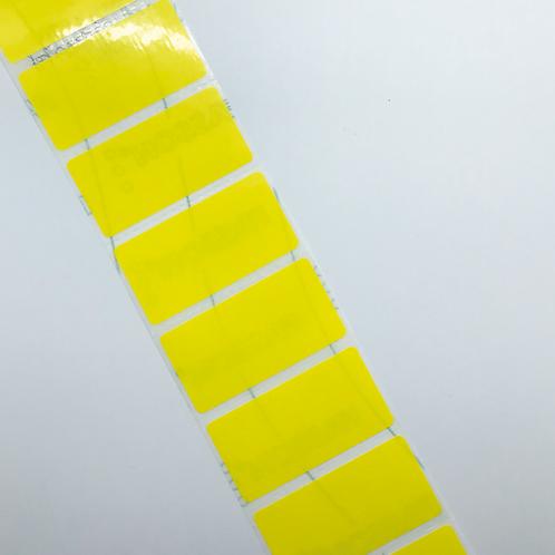 Hi-Vis Heavy Duty Address Labels (50mm x 25mm)