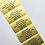 Thumbnail: Gold Address Labels (45mm x 20mm)